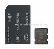 Sony Memory Stick Micro M2 Card 1GB images