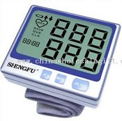 Wrist Blood Pressure Monitor with Jumbo Display images