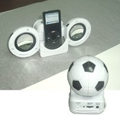Football Shape iPod Mini Speaker system images