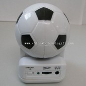 Portable Football Shape Mini Speaker images