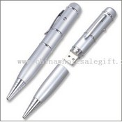 Ball pen U-Flash memory stick images