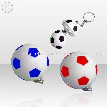 Promotional Football USB Flash keychain