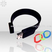 Silicon rubber Band USB Flash images