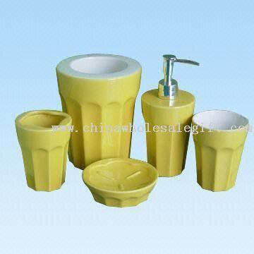 Five-piece Ceramic Bathroom Set