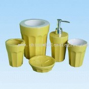 Five-piece Ceramic Bathroom Set images
