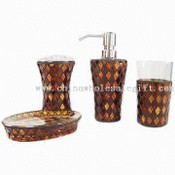 Four-piece Glass Bathroom Sets images