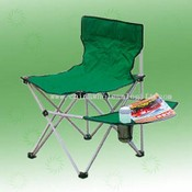Camping chair with small table images