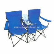 Luxurious double chair with a table & ice bag images