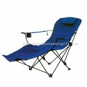 camping lounger with two adjustable position images