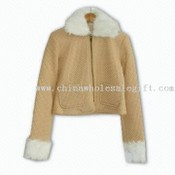 Womens 100% Polyester Casual Jacket images