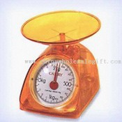 Brightly-Colored Mechanical Kitchen Scale images