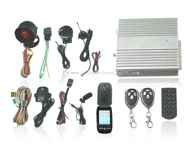 GSM Car Alarm System(GSM-Q06):Alarm Car Alarm With SMS GSM Alarm System