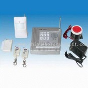 Wired and Wireless Alarm System images