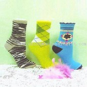 Colorful Ladies Socks images
