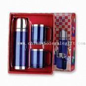 Vacuum Flask and Coffee Mug Set images