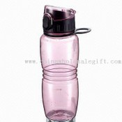 600mL Translucent PC Sports Water Bottle with Flip Top images