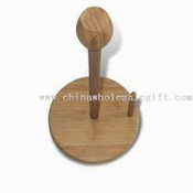 Bamboo Roll Paper Holder images