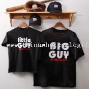 Personalized Gifts - Big Guy Adult Black T-Shirt images