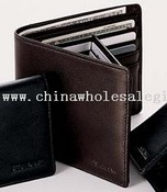 Tri-Fold Leather Wallet images