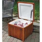 Wooden Outdoor Cooler Box images