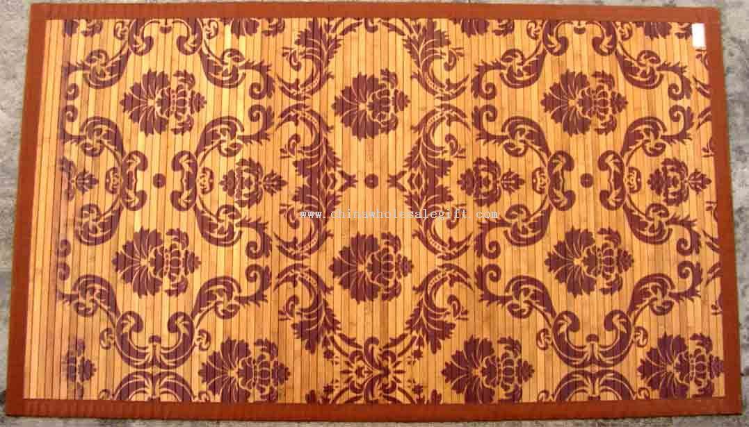 Printing bamboo carpet