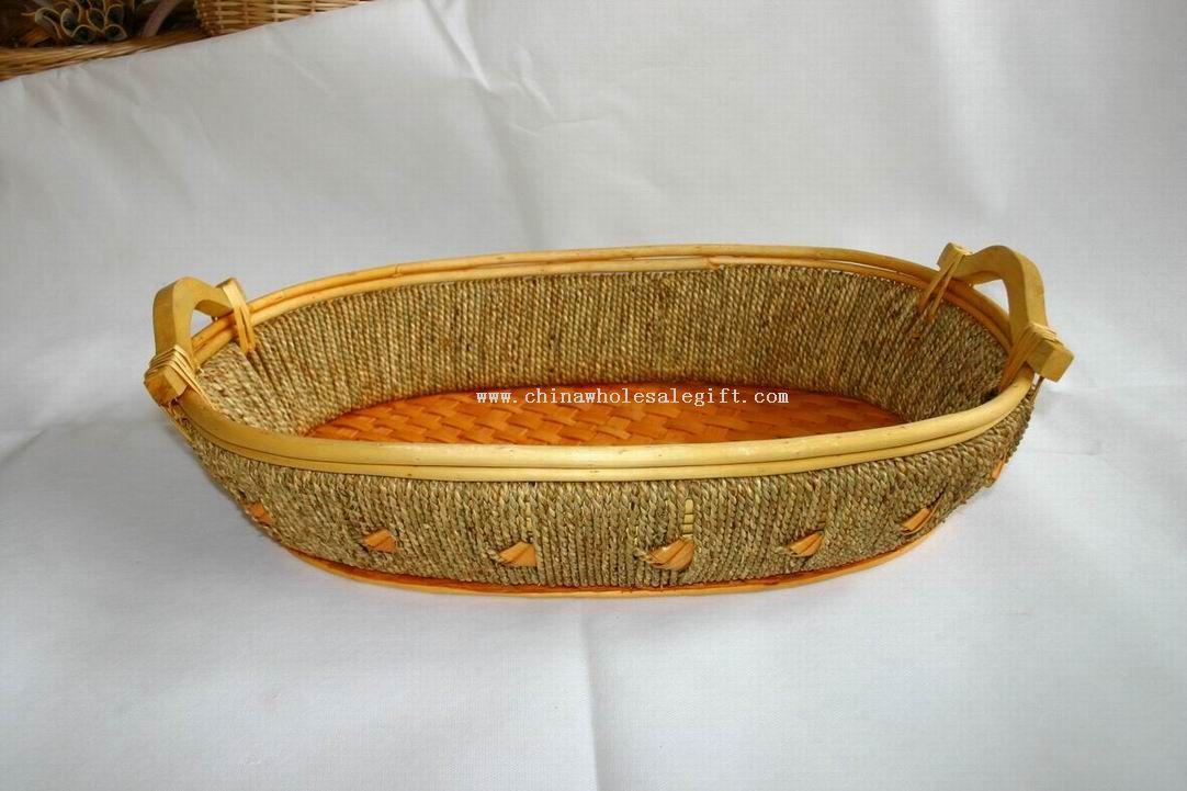 Handicraft Basketry : Wicker basket basketry