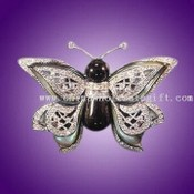 Butterfly-shaped Bud Brooch images
