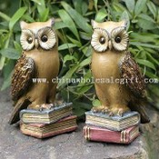 Polyresin Night owl craft 7-inch Owl Craft, images