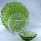 Glass Plates with Bowl images