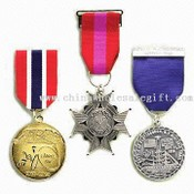 Medals with Short Ribbon Drapes images
