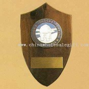 Trophy or Award in Wooden Plaque or Metal Base images