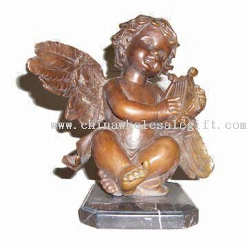 Bronze and Marble Metal Craft