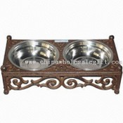 Cast Iron Oblong-shaped Dog Feeder images