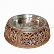 Cast Iron Round Dog Dish images
