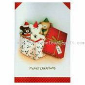 Voice Recording Greeting Card For Christmas images