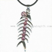 Fish Bone Shaped Pendant images