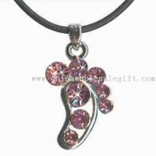 Foot Print Shaped Pendant images