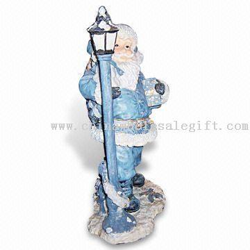 Polyresin Santa Claus