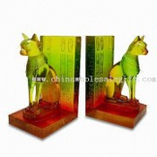 Color Poly-resin Book-ends images