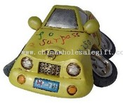 Polyresin speed car saving bank images