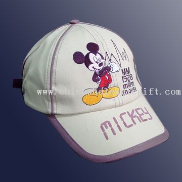 Cotton Twill Brushed Embroidered Baseball Cap