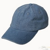 Blue Washed Denim Cap images