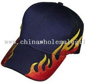light brushed cotton twill and mesh Baseball cap images