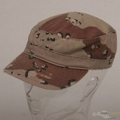 Enzyme Frayed Army Caps / Desert images