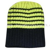 Striped knitted hats images