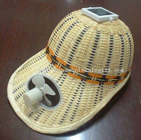 Mono(Multi)crystalline Solar Fan Hat