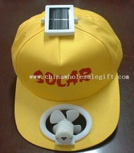 Mono(Multi)crystalline Solar Fan Cap (with switch) images