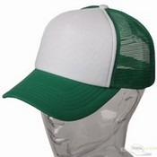 Cotton Trucker Cap / Kelly Green images