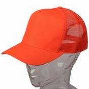 Structured Mesh Cap / Orange images