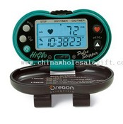 Oregon Scientific Pedometer with Pulse Sensor images
